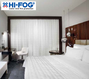 Технология HI-FOG® для отелей, гостиниц - надежная защита от пожара