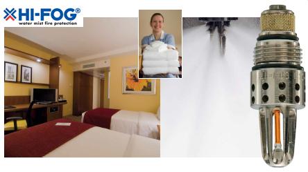 Технология HI-FOG® для отелей, гостиниц