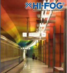 HI-FOG® для подземных станций метро
