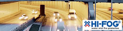 ОСК ГРУПП - HI-FOG® Защита транспортных тоннелей от пожара